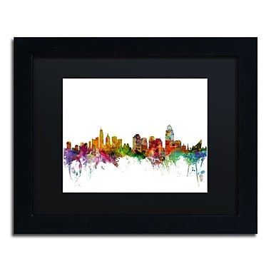 Trademark Fine Art ''Cincinnati Ohio Skyline'' by Michael Tompsett 11