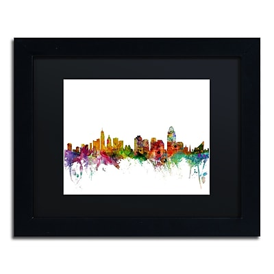 Trademark Fine Art ''Cincinnati Ohio Skyline'' by Michael Tompsett 11