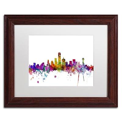 Trademark Fine Art ''Dallas Texas Skyline'' by Michael Tompsett 11
