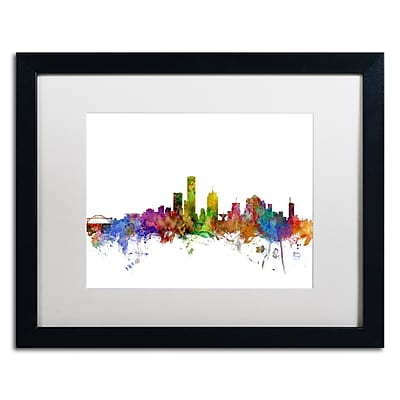 Trademark Fine Art ''Milwaukee Wisconsin Skyline'' by Michael Tompsett 16