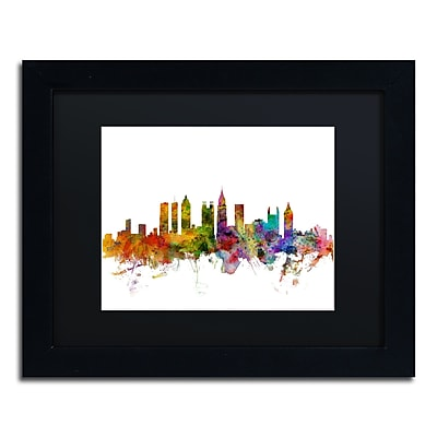 Trademark Fine Art ''Atlanta Georgia Skyline'' by Michael Tompsett 11