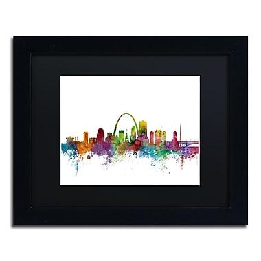 Trademark Fine Art ''St. Louis Missouri Skyline'' by Michael Tompsett 11