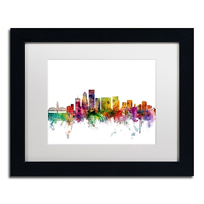 Trademark Fine Art ''Portland Oregon Skyline'' by Michael Tompsett 11