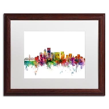 Trademark Fine Art ''Portland Oregon Skyline'' by Michael Tompsett 16