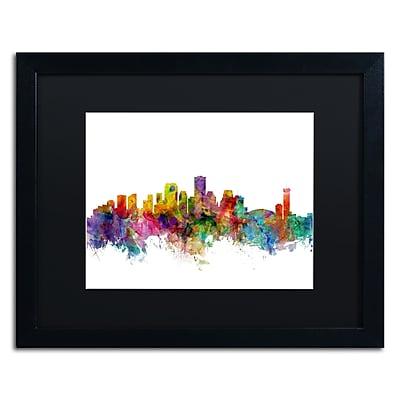 Trademark Fine Art ''New Orleans Louisiana Skyline'' by Michael Tompsett 16