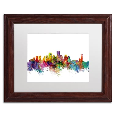 Trademark Fine Art ''New Orleans Louisiana Skyline'' by Michael Tompsett 11