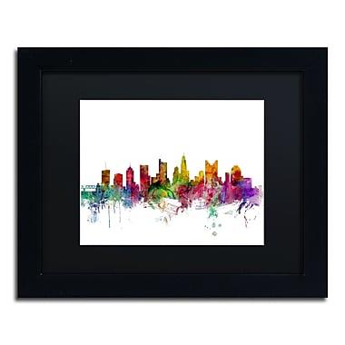 Trademark Fine Art ''Columbus Ohio Skyline'' by Michael Tompsett 11