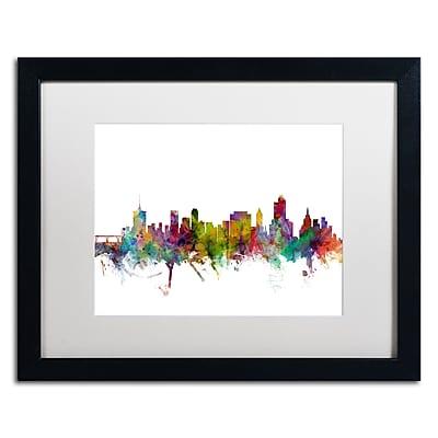 Trademark Fine Art ''Tulsa Oklahoma Skyline'' by Michael Tompsett 16