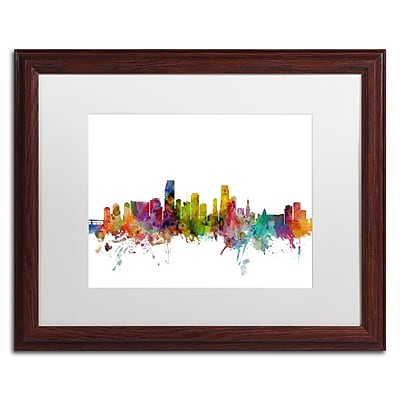 Trademark Fine Art ''Miami Florida Skyline'' by Michael Tompsett 16