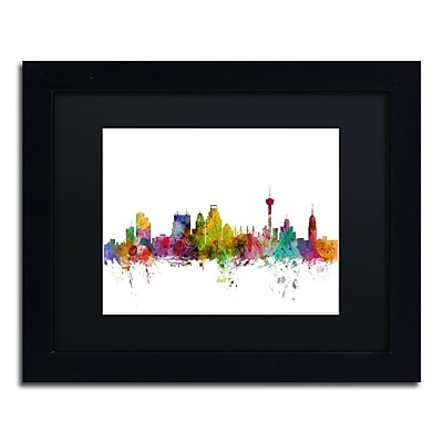 Trademark Fine Art ''San Antonio Texas Skyline'' by Michael Tompsett 11