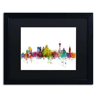 Trademark Fine Art ''San Antonio Texas Skyline'' by Michael Tompsett 16