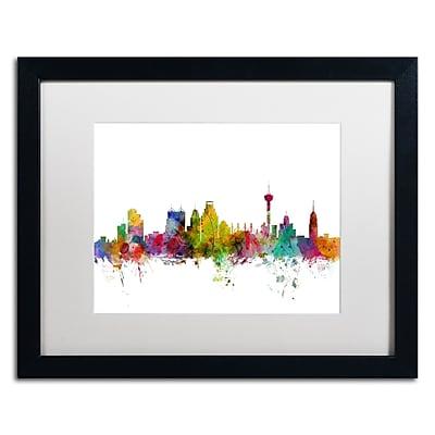 Trademark Fine Art ''San Antonio Texas Skyline'' by Michael Tompsett 16