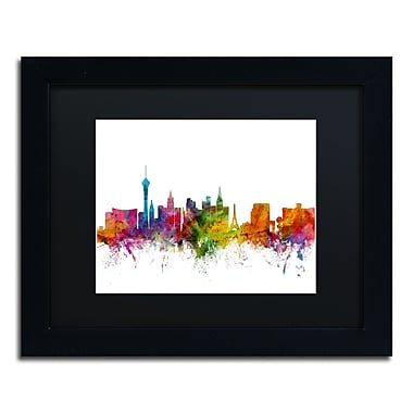 Trademark Fine Art ''Las Vegas Nevada Skyline'' by Michael Tompsett 11