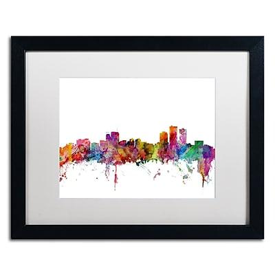 Trademark Fine Art ''Anchorage Alaska Skyline'' by Michael Tompsett 16