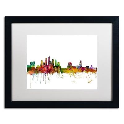Trademark Fine Art ''Tampa Florida Skyline'' by Michael Tompsett 16