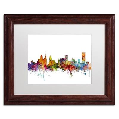 Trademark Fine Art ''Buffalo New York Skyline'' by Michael Tompsett 11