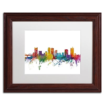 Trademark Fine Art ''Fort Worth Texas Skyline'' by Michael Tompsett 11