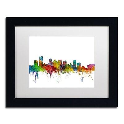 Trademark Fine Art ''Phoenix Arizona Skyline'' by Michael Tompsett 11
