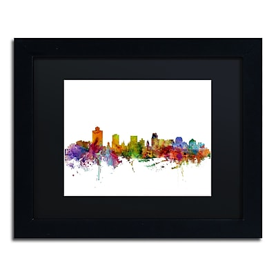 Trademark Fine Art ''Salt Lake City Skyline'' by Michael Tompsett 11