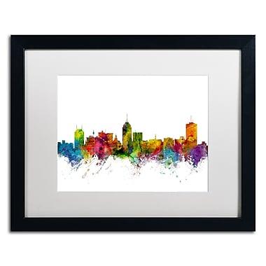 Trademark Fine Art ''Fresno California Skyline'' by Michael Tompsett 16