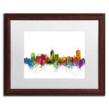Trademark Fine Art ''Fresno California Skyline'' by Michael Tompsett 16