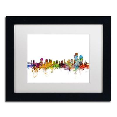 Trademark Fine Art ''Wilmington Delaware Skyline'' by Michael Tompsett 11