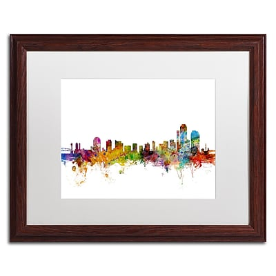 Trademark Fine Art ''Wilmington Delaware Skyline'' by Michael Tompsett 16