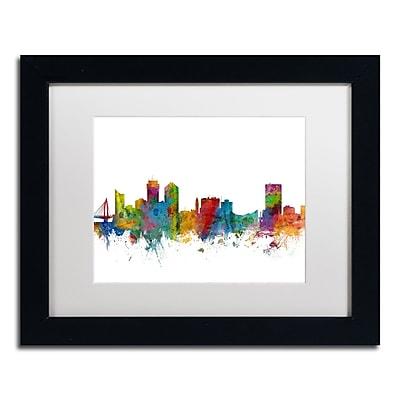 Trademark Fine Art ''Wichita Kansas Skyline'' by Michael Tompsett 11