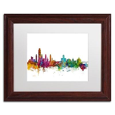 Trademark Fine Art ''Albany New York Skyline'' by Michael Tompsett 11