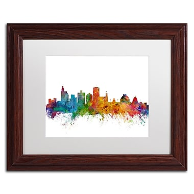 Trademark Fine Art ''Jackson Mississippi Skyline'' by Michael Tompsett 11