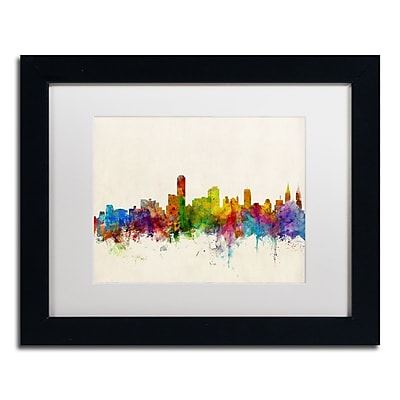 Trademark Fine Art ''Adelaide Australia Skyline'' by Michael Tompsett 11