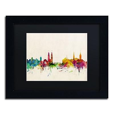 Trademark Fine Art ''Zurich Switzerland Skyline'' by Michael Tompsett 11