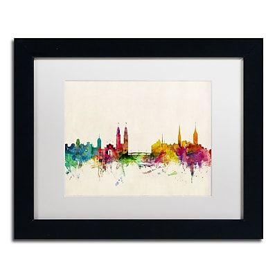 Trademark Fine Art ''Zurich Switzerland Skyline'' by Michael Tompsett 11
