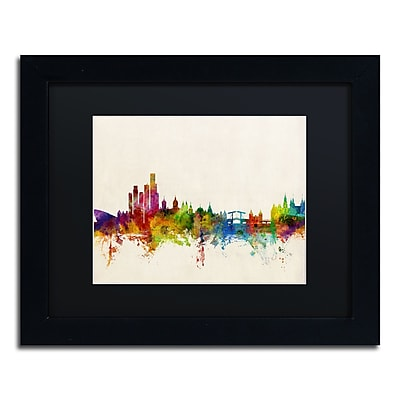 Trademark Fine Art ''Amsterdam The Netherlands Skyline'' by Michael Tompsett 11