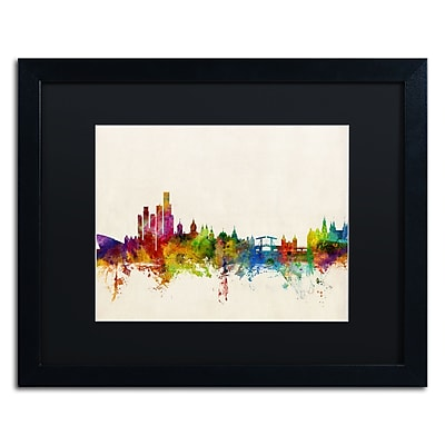 Trademark Fine Art ''Amsterdam The Netherlands Skyline'' by Michael Tompsett 16
