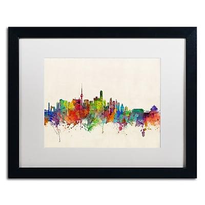 Trademark Fine Art ''Beijing China Skyline'' by Michael Tompsett 16