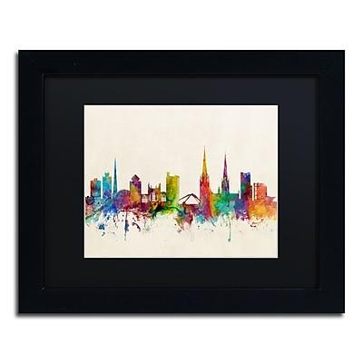 Trademark Fine Art ''Coventry England Skyline'' by Michael Tompsett 11