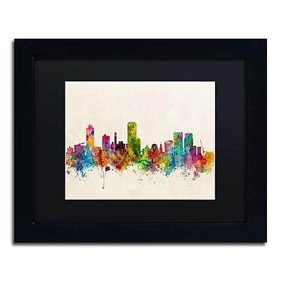 Trademark Fine Art ''Wellington New Zealand Skyline'' by Michael Tompsett 11