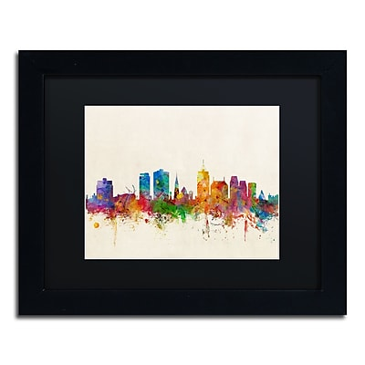 Trademark Fine Art ''Christchurch New Zealand Skyline'' by Michael Tompsett 11