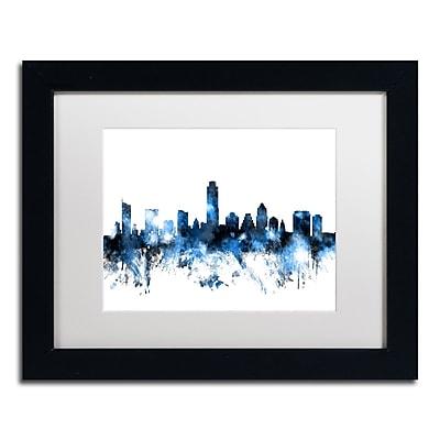 Trademark Fine Art ''Austin Texas Skyline II'' by Michael Tompsett 11