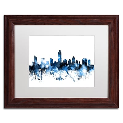 Trademark Fine Art ''Austin Texas Skyline II'' by Michael Tompsett 11