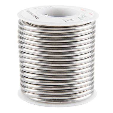 Common Wire Solders, 50% Tin/50% Lead Rosin Core, TTU900, 1/8