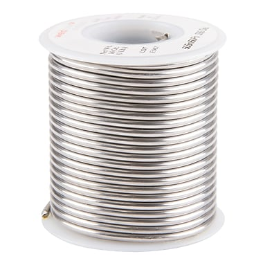 Common Wire Solders, 50% Tin/50% Lead Acid Core, TTU895, 3/32