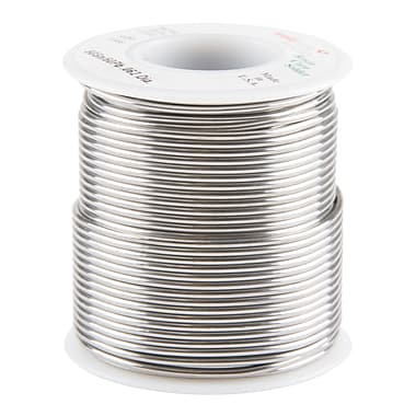 Common Wire Solders, 50% Tin/50% Lead Rosin Core, TTU898, 1/16