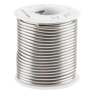 Common Wire Solders, 50% Tin/50% Lead Rosin Core, TTU899, 3/32