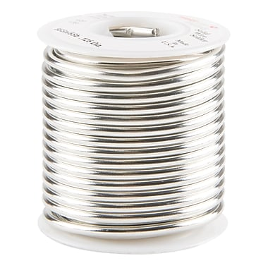 Common Wire Solders - 95% Tin/5% Antimony Solid, TTU904, Description - 1/8