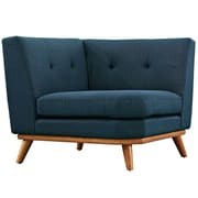 Modway Engage 39.5 Fabric Corner Sofa Blue EEI-1796-AZU
