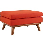 Modway Engage Fabric Ottoman, Atomic Red1 (EEI-1797-ATO)