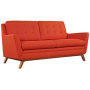 "Modway Beguile 71.5""W Fabric Loveseat, Red (EEI-1799-ATO)"