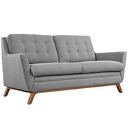 "Modway Beguile 71.5""W Fabric Loveseat, Gray (EEI-1799-GRY)"